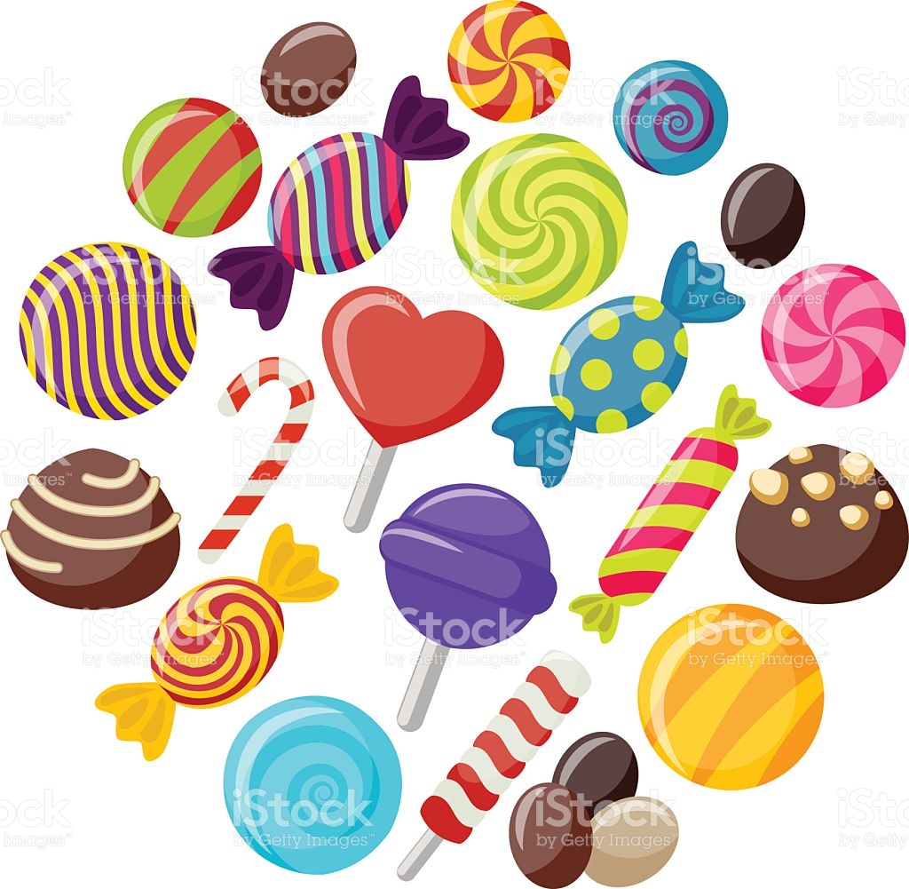 Candies clipart 5 » Clipart Station.