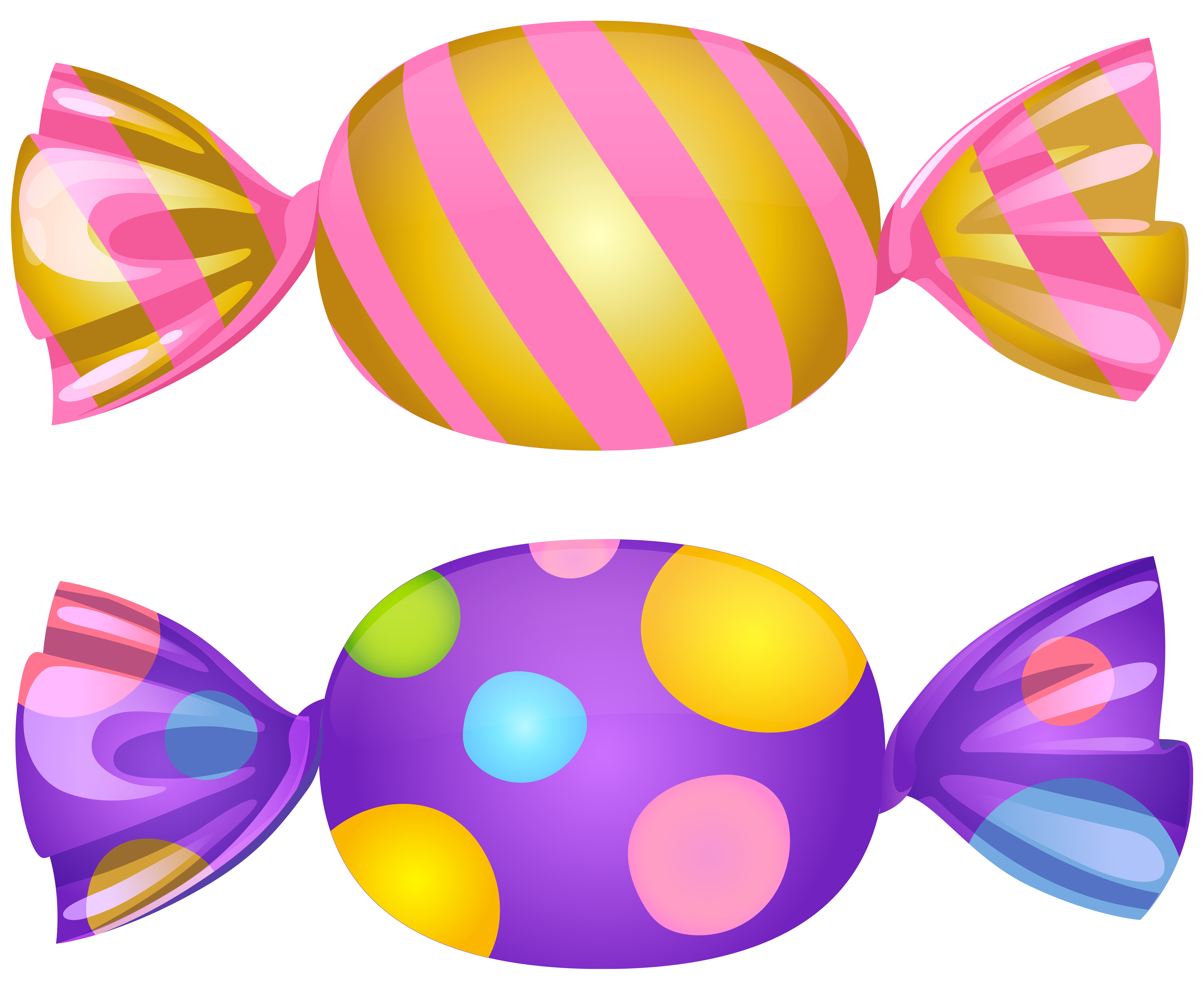 Candy Transparent PNG Clip Art.