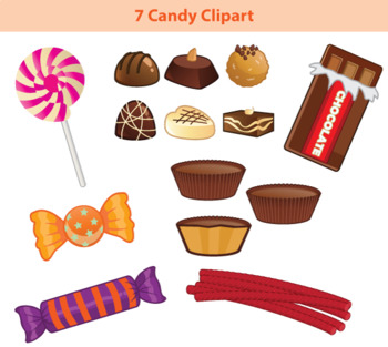 7 Candy Clipart.