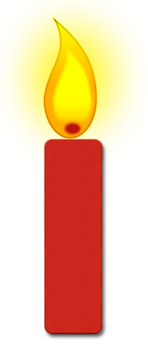 Burning Candle Clipart.