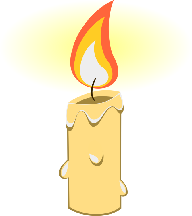 Fire,Flame,Birthday Candle Vector Clipart.