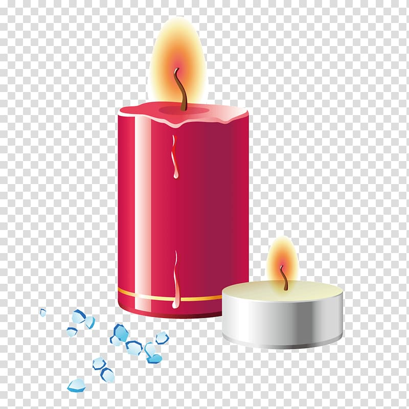 Candle Combustion Flame, Burning candles transparent background PNG.