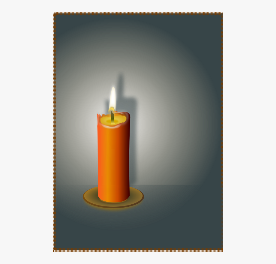The Candle Clip Art.