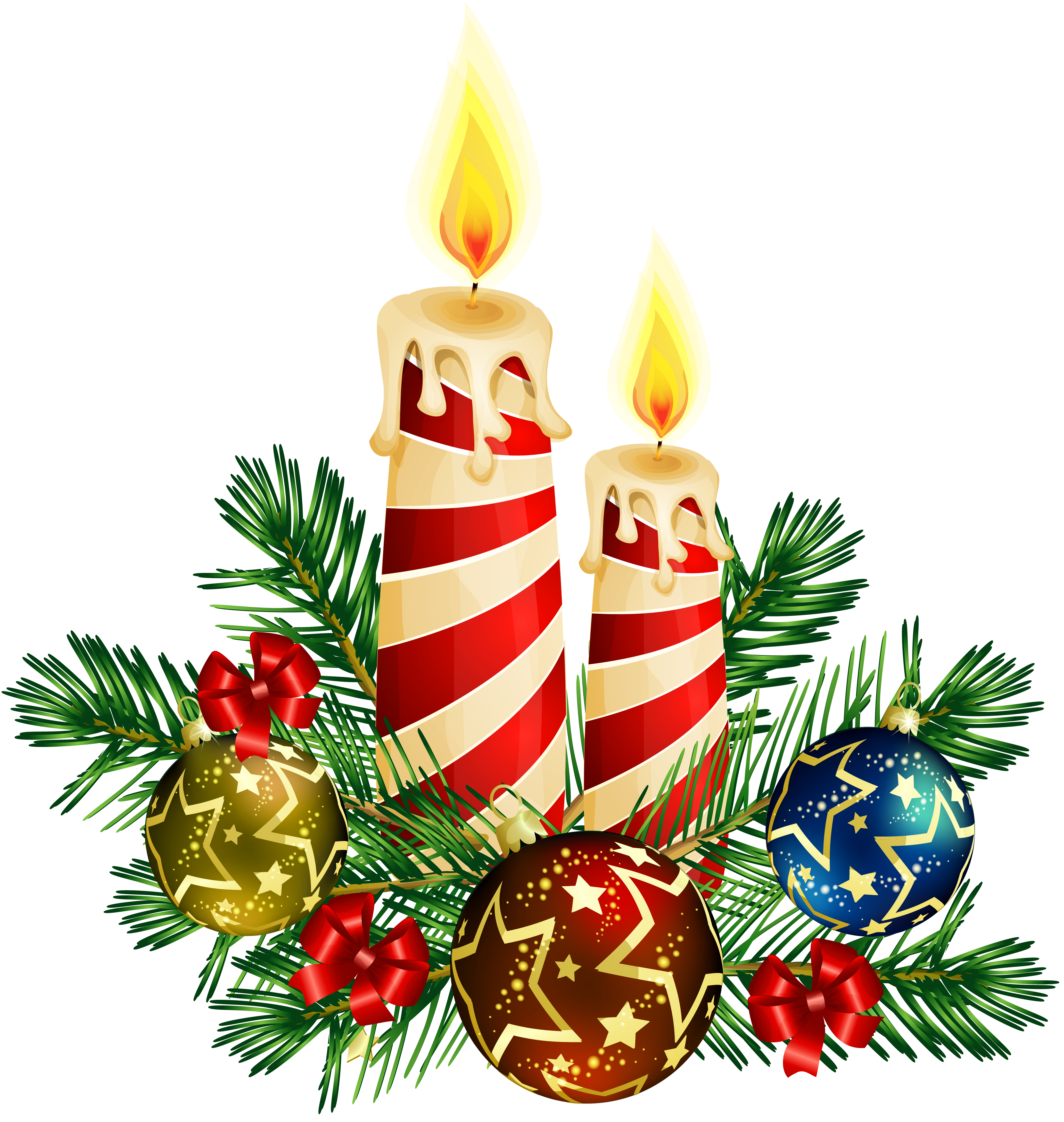 Free Christmas Candle Images, Download Free Clip Art, Free.