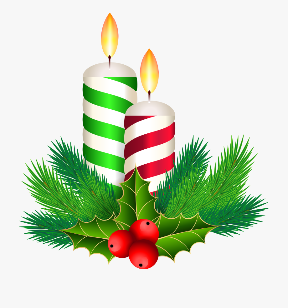 Christmas Candles Decoration Clip Art Gallery Yopriceville.
