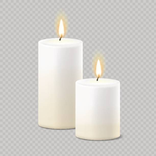 Best Candle Illustrations, Royalty.