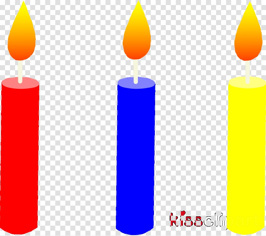 Birthday Candle Clipart.