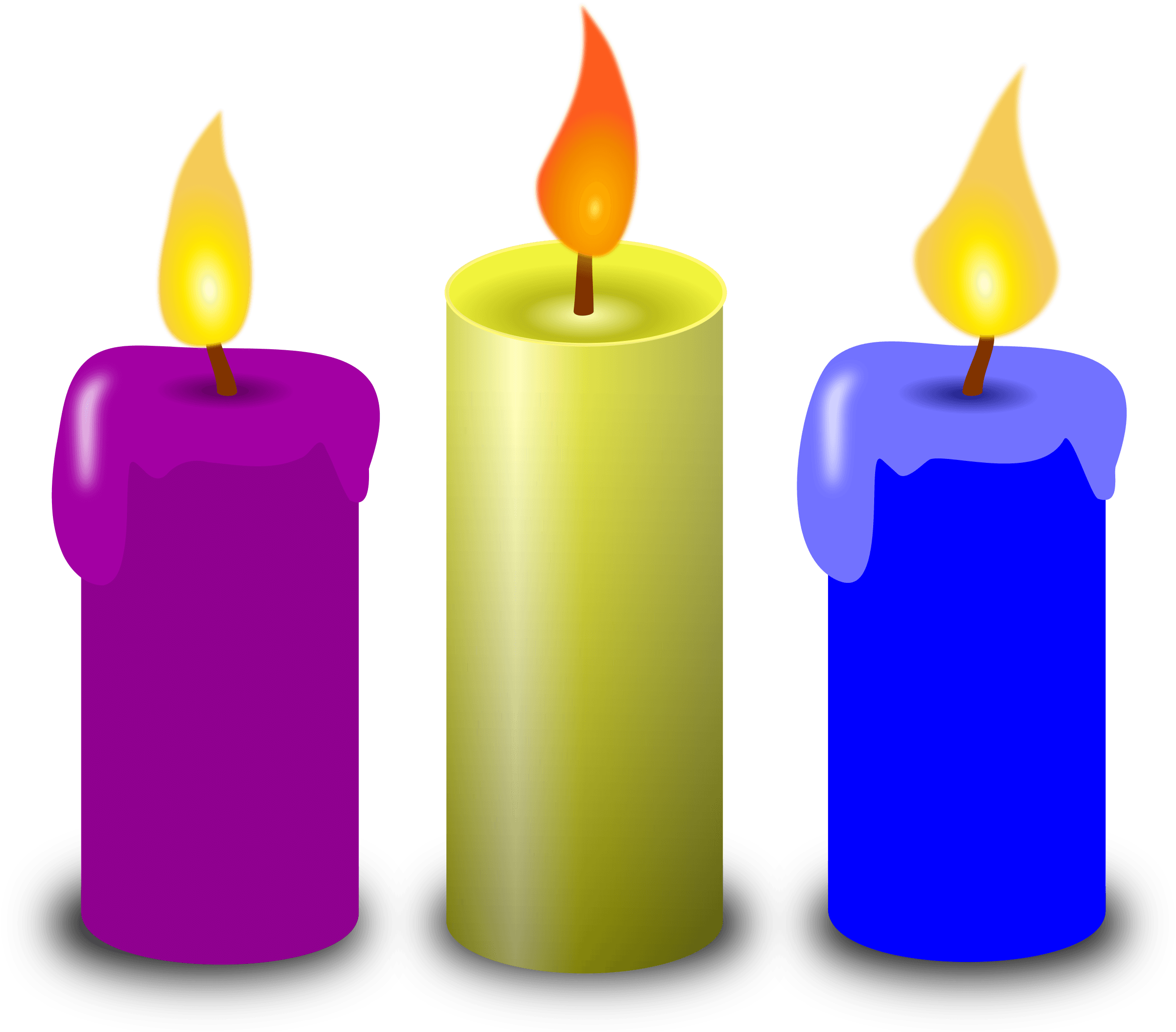 Free To Use &, Public Domain Candle Clip Art.