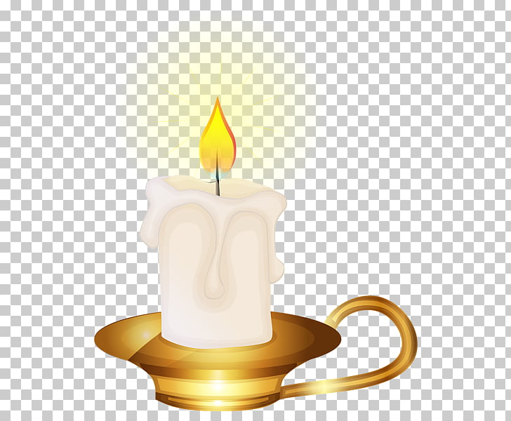 Birthday cake Candle , Yellow Candle s PNG clipart.