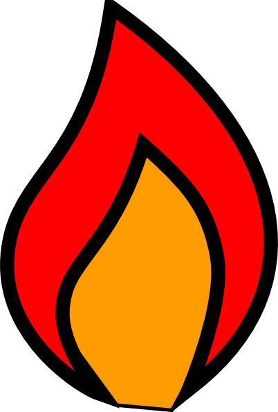 Candle Flame Image.