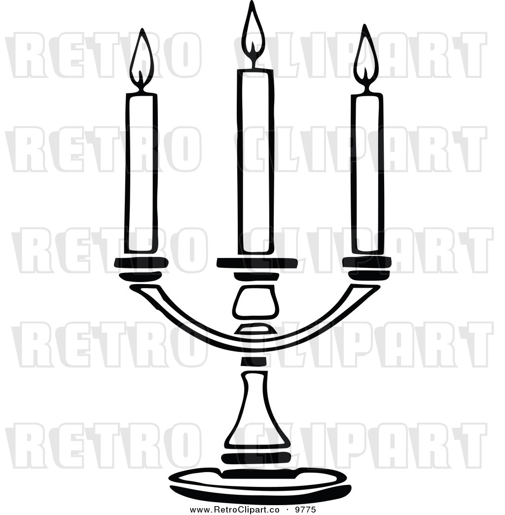 Clip Art Candle Holder Clipart.
