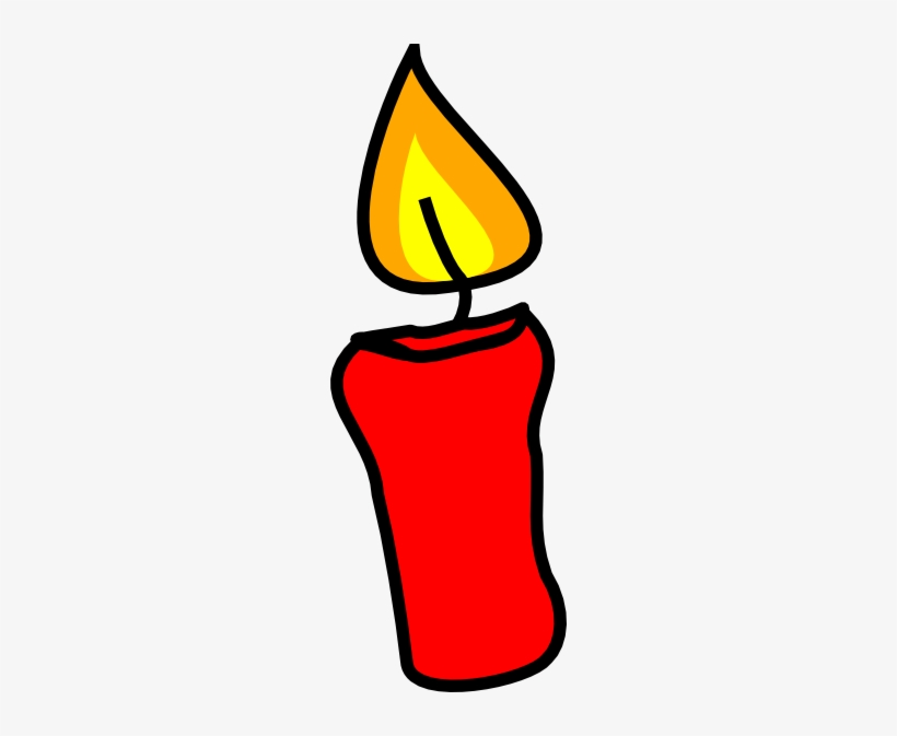 Candle Clipart Red Candle.