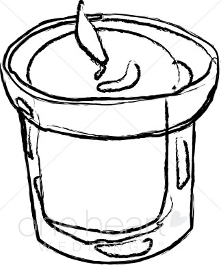 Jar Candle Clipart.
