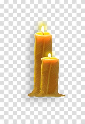 Candle Wax Megabyte, Fresh candle candlelight transparent background.