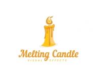 candle Logo Design.