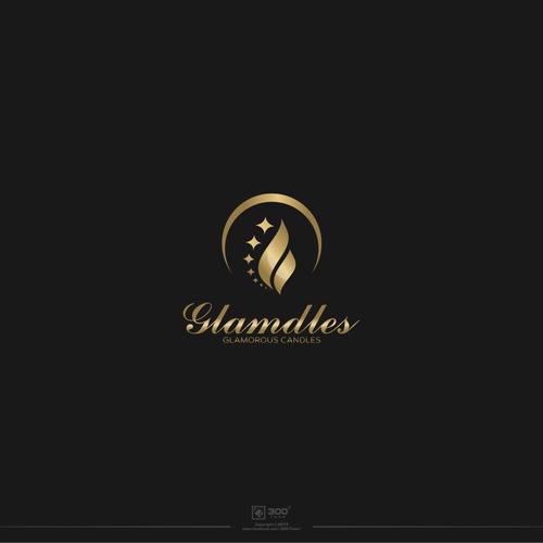 Logo design for Glamdles.