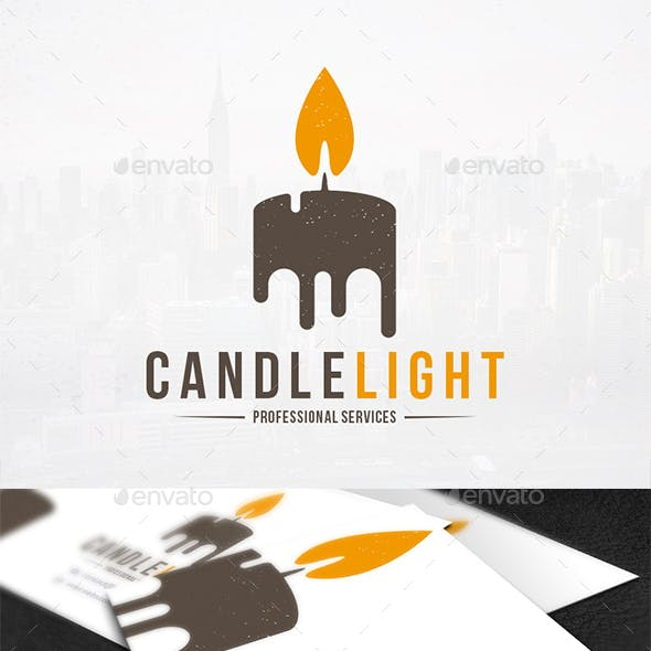 Candles Candle Logo Templates from GraphicRiver.