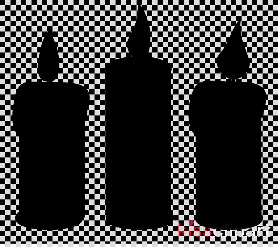 candle font cylinder black.
