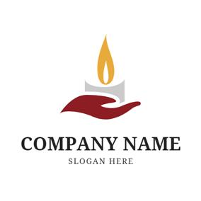 Free Candle Logo Designs.