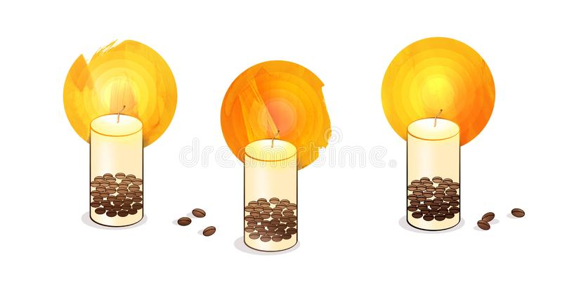 Candle Making Stock Illustrations.