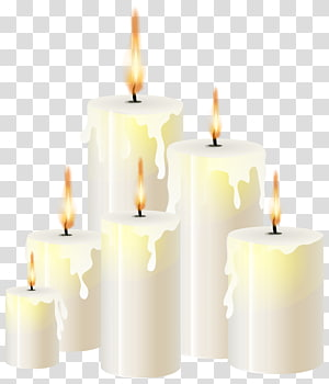 Light Candle, Candle material transparent background PNG.