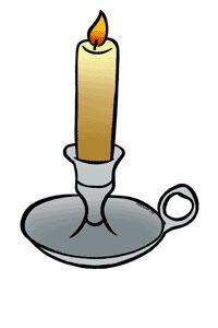Candlestick Clipart.