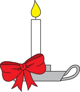 Free Candle Clipart Image.