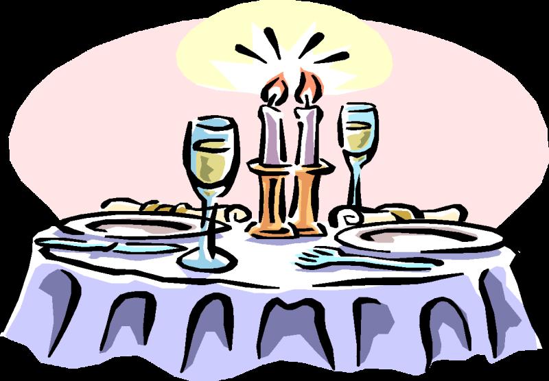 A Cartoon Waiter At A Fine Dining Establishment Serving.