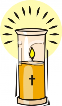 Candle Memorial Service Clipart#1974125.