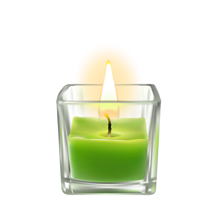 Glass Lighted Candles PNG Image Free Download searchpng.com.