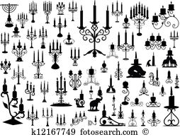 Candlestick holder Illustrations and Clip Art. 198 candlestick.