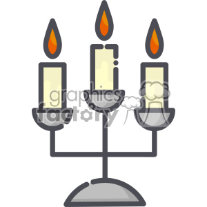 Candlesticks clip art vector images clipart. Royalty.