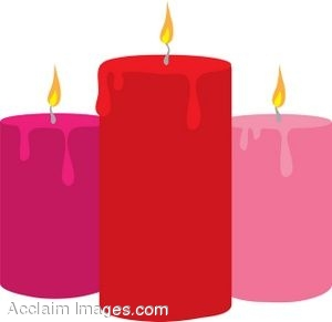 Cliparts Red Candle Clipart.