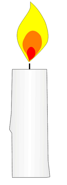 Birthday candle clipart 4 of birthday candles clip art image.