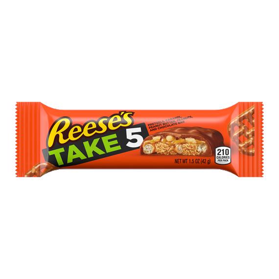 REESE'S TAKE5 Candy Bar.