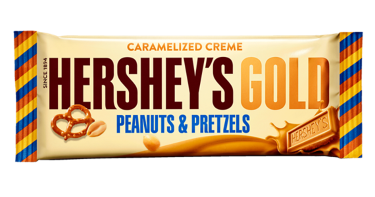 Hershey company offers first new candy bar since 1995.