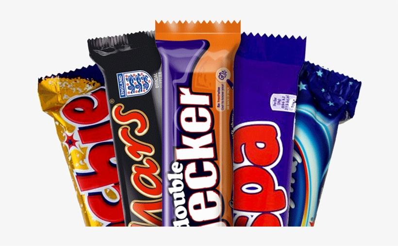 British Chocolate Bars.