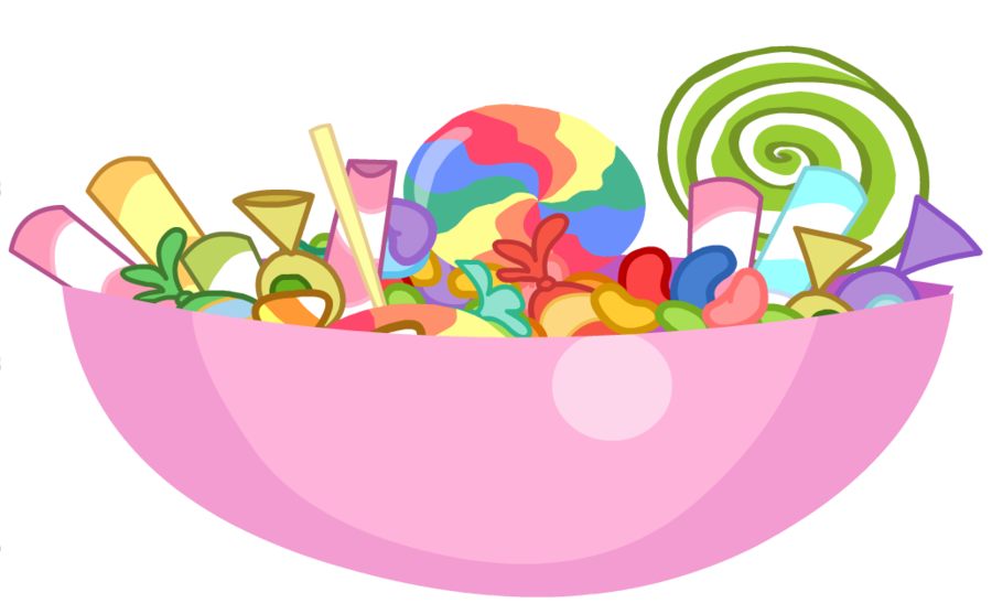 Candy bowl clipart.