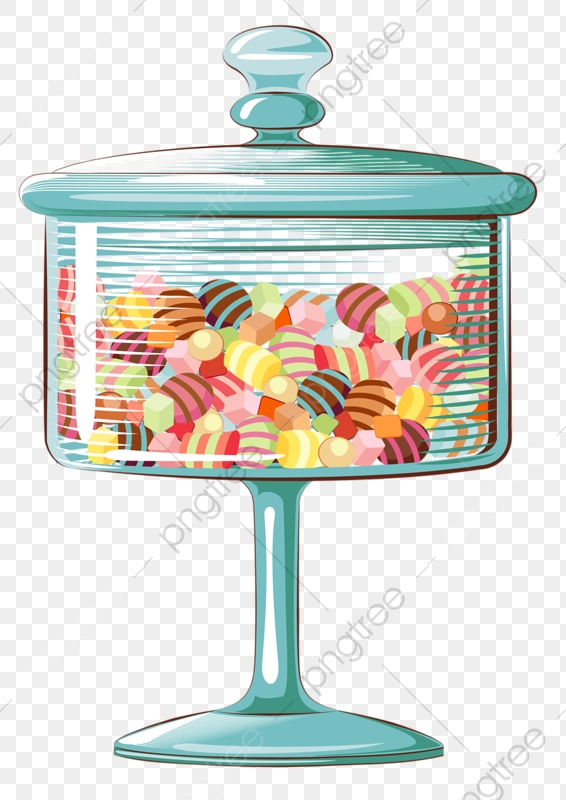 Glass Candy, Candy Box, Glass, Sweets PNG Transparent Image and.