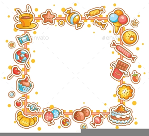 Free Candy Buffet Clipart.