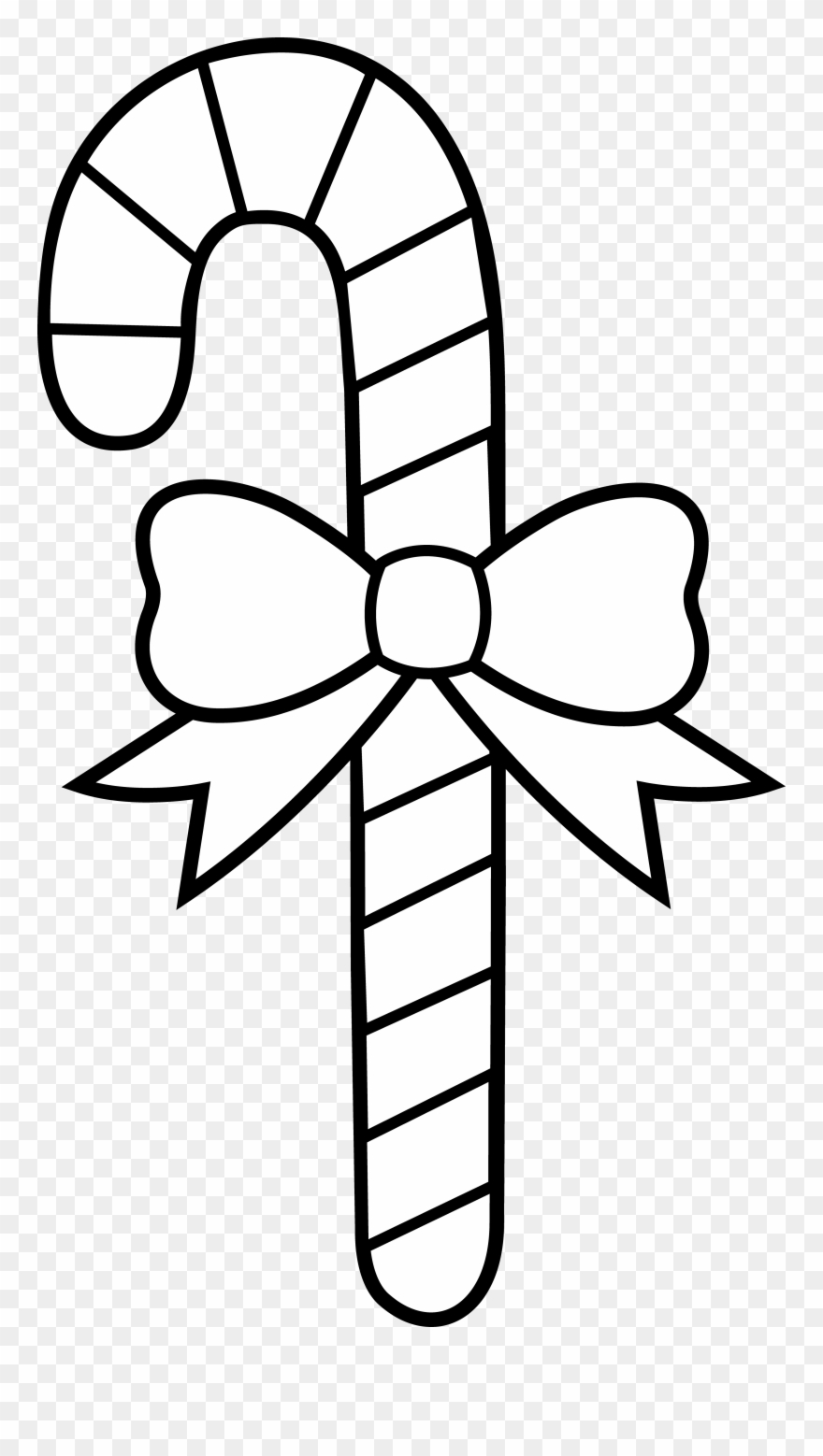 Candy Cane Coloring Pages Christmas Candy Cane Coloring.