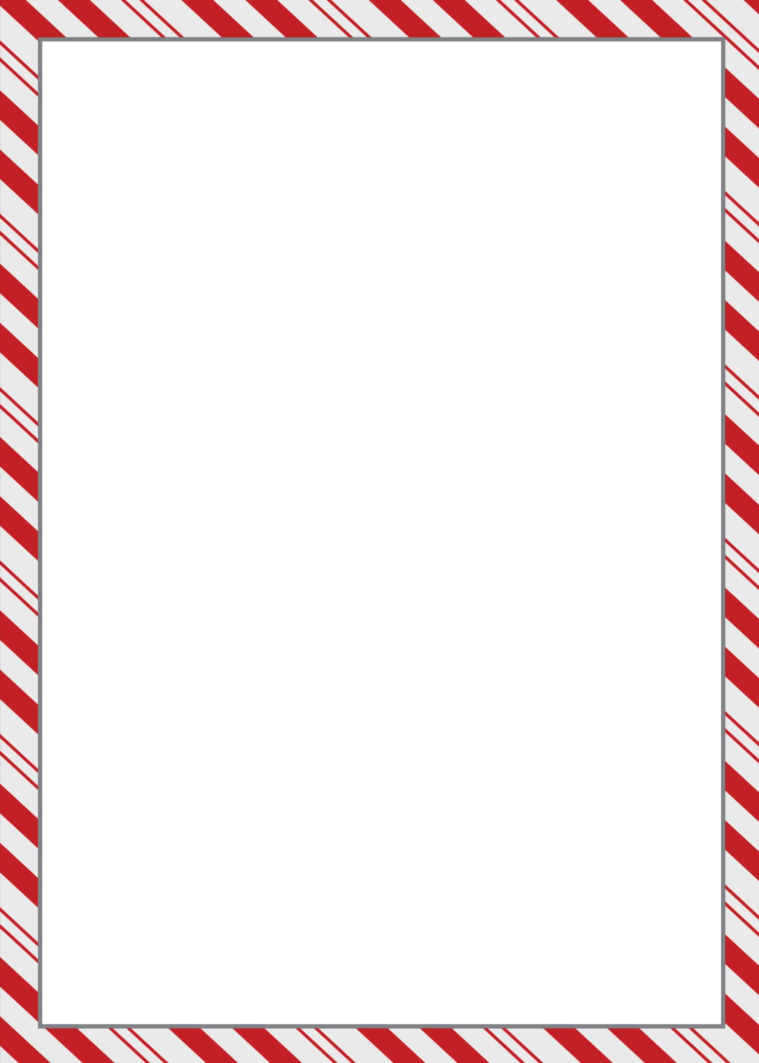 80+ Candy Cane Border Clip Art.