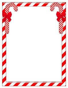 Candy Cane Border Clipart (105+ images in Collection) Page 2.