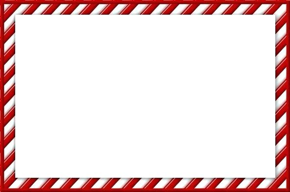 Candy cane border clipart 3 » Clipart Station.