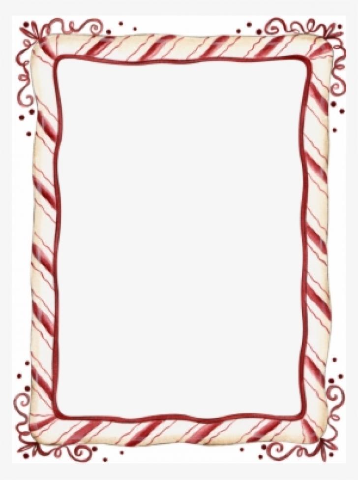 christmas candy cane border free clip art.