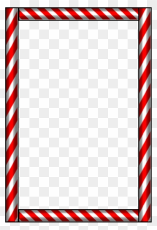 Free PNG Candy Cane Border Clip Art Download.