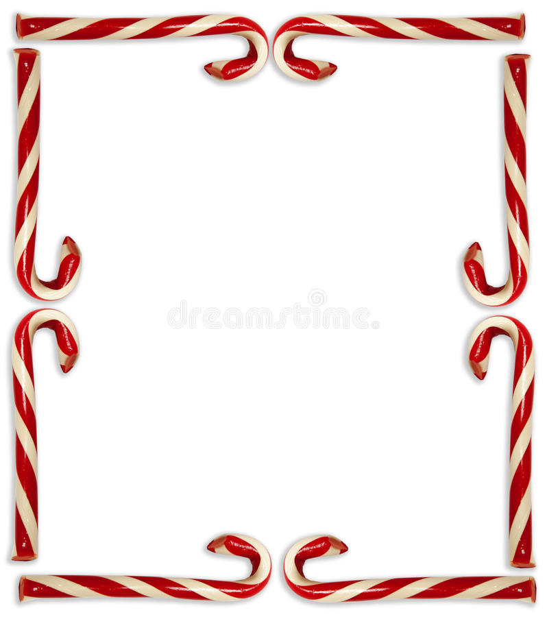 candy cane border black and white.