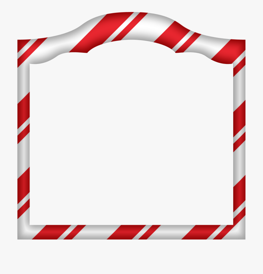 Hd Candy Canes Border Png Christmas Border Clipart.