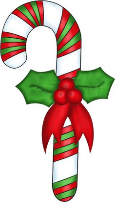 Free christmas candy cane clipart.
