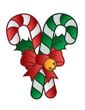 Candy Cane Clip Art and Decorations for Christmas.